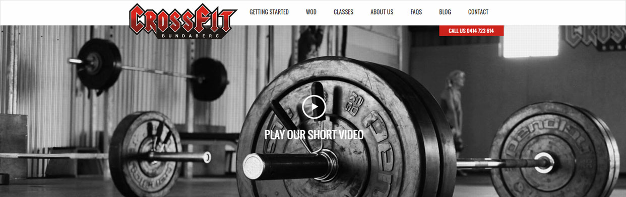 CrossFit Bundaberg - website banner