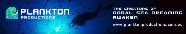 Plankton Productions - web advert graphic design