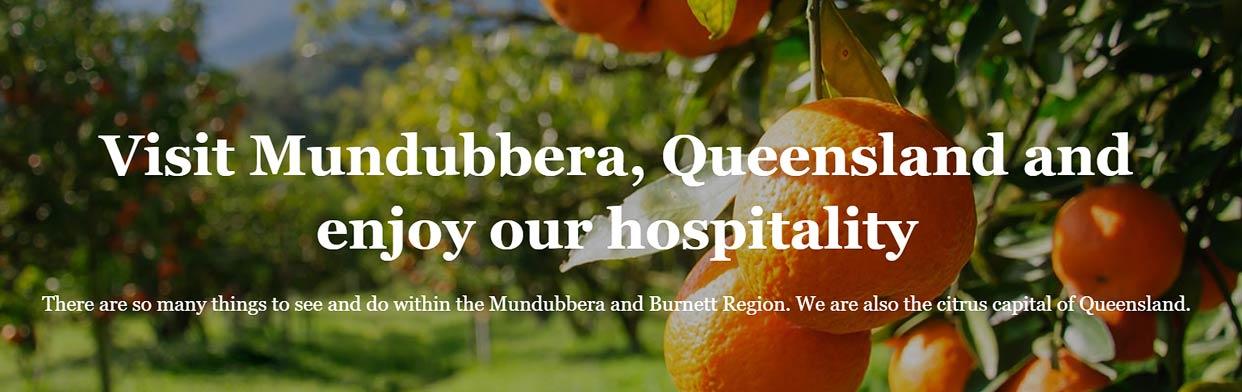 Billabong Motor Inn - website design - rural Queensland - Motel Website