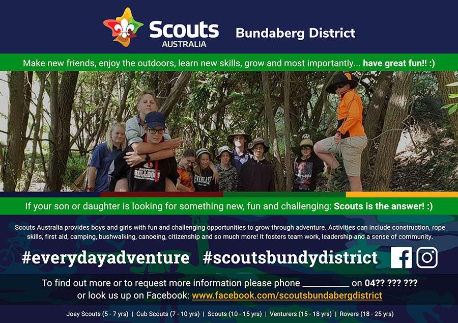 Scouts - advertisement design