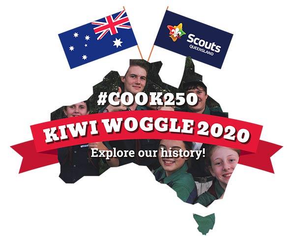 Kiwi Woggle 2020 - logo design