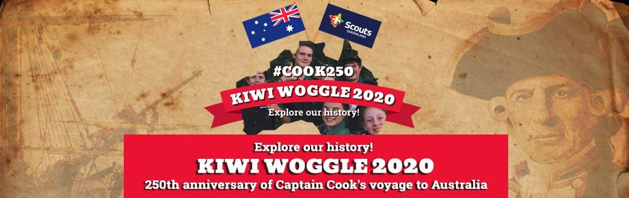 Kiwi Woggle 2021 banner – Scouts Queensland